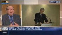 Le Soir BFM: Varin renonce à sa retraite chapeau: a-t-il pris la bonne décision? - 27/11 1/3