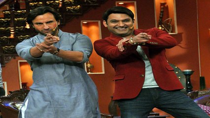 Saif Ali Khan At Comedy Nights With Kapil