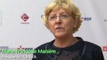 Interview de Emmanuel Acchiardi, Ademe, et  Marie-Françoise Maniere, présidente de l'Unsfa
