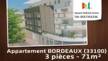 A vendre - Appartement - BORDEAUX (33100) - 3 pièces - 71m²