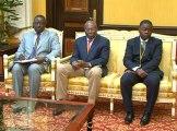 Audience entre le Président gabonais et l'Ordre gabonais des Architectes
