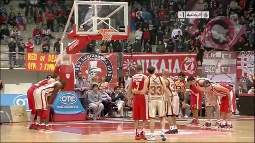 Olympiakos-G.Saray maçında kavga çıktı!