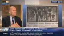 Le Soir BFM: Tibéhirine: Alger donne son feu vert pour l'exhumation des moines assassinés - 28/11 2/5
