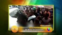 Maite Perroni prepara una firma de autografos en Mexico
