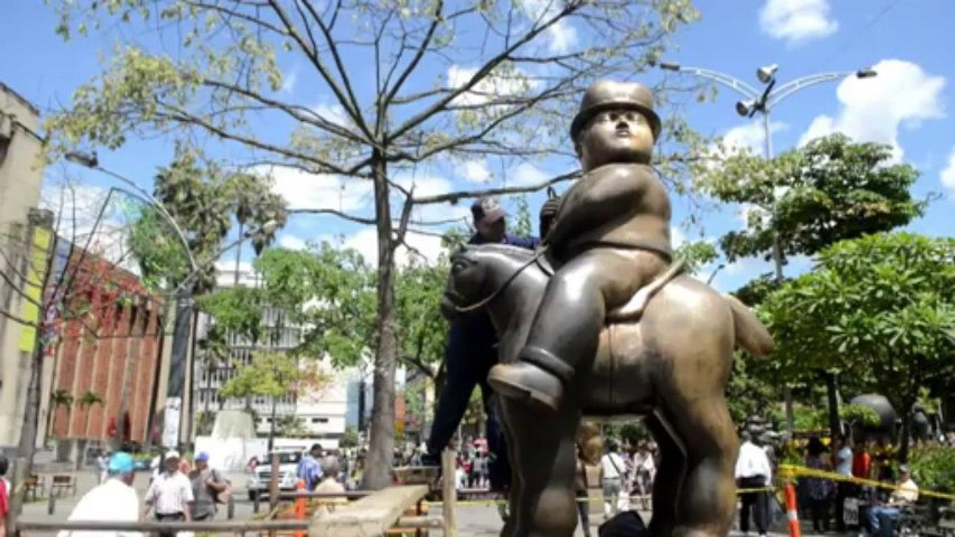 Esculturas de Botero são restauradas