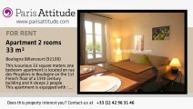 1 Bedroom Apartment for rent - Boulogne Billancourt, Boulogne Billancourt - Ref. 1002