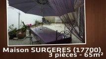 A louer - Maison/villa - SURGERES (17700) - 3 pièces - 65m²