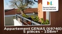 A vendre - Appartement - GENAS (69740) - 5 pièces - 108m²