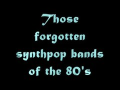 synthpop of the 80 s 1