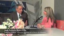 José Antonio Busto-Villa, presidente de la Federación Española Bancos de Alimentos. 27-11-2013