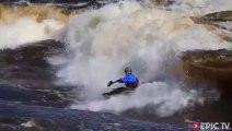 Big Wave Freestyle Kayak Surfing - 2013