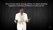 Life...in just a minute by RVM - 100 Don't just chase millions...Achieve Happiness _ Fulfillment