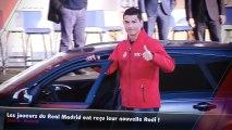 Bale, Benzema, Ronaldo... Les joueurs du Real Madrid ont reçu leur nouvelle Audi !