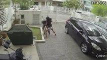 China: Mujer especialista en Muay Thai sorprendió y dejó mal herido a ladrón / Women Vs Thief : Women Wins with Muay Thai combo