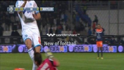 Olympique de Marseille 2 - 0 Montpellier 29/11/2013