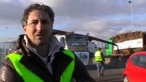 VESOUL : MOUVEMENT DE GROGNE DES TRANSPORTEURS ROUTIERS CONTRE L'ECOTAXE, ACTE 2