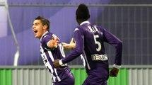 #TOULOUSEFCFCSM:  Le premier des trois buts de Wissam Ben Yedder