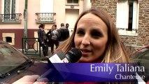 Emily Taliana la chanteuse Pop Rock qui aime Vincennes tourne son vidéo Clip J'ai trop froid dans sa ville