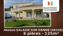 A vendre - Maison/villa - SALAISE SUR SANNE (38150) - 6 pièces - 125m²