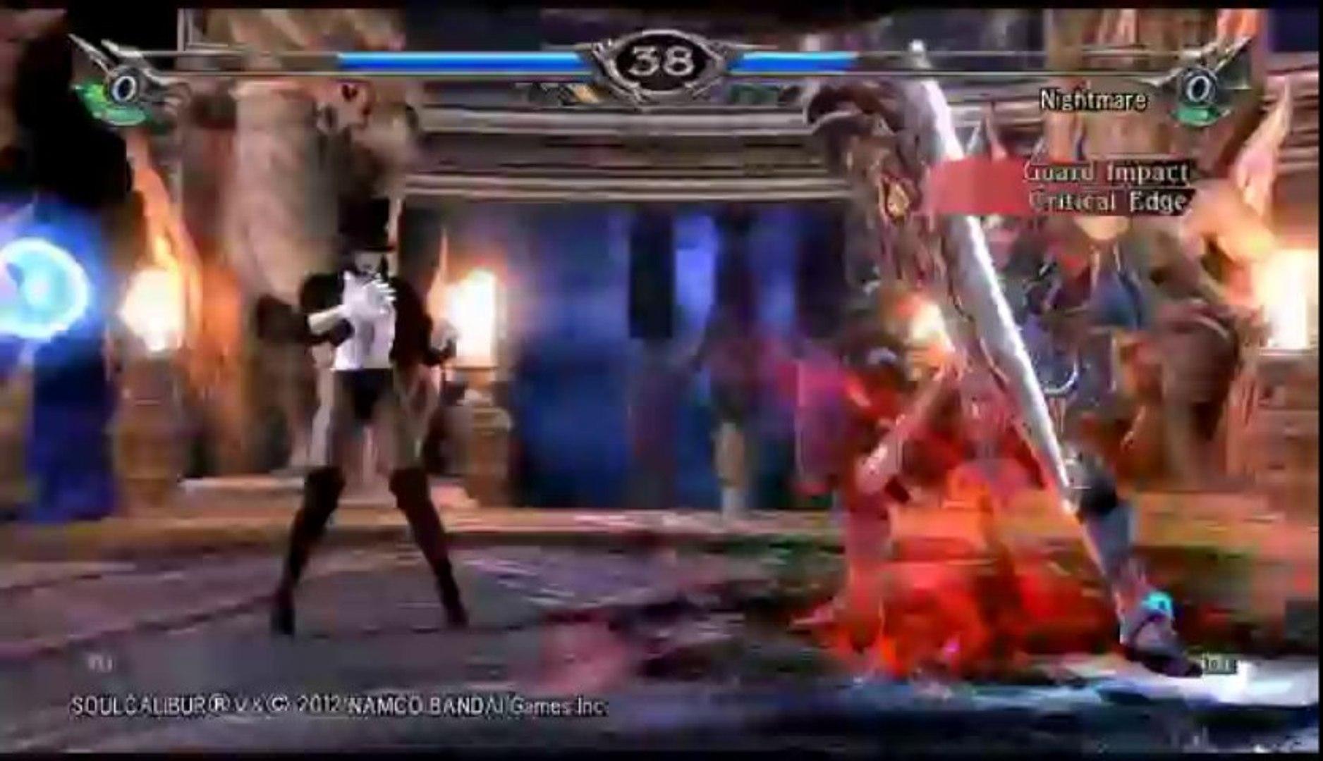 Soul Calibur V | Ranked Online Match - Zatanna Versus Nightmare