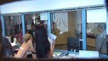 Caméra cachée des caissières sexy en Russie