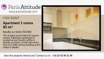 2 Bedroom Duplex for rent - Neuilly sur Seine, Neuilly sur Seine - Ref. 4816