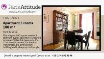 2 Bedroom Duplex for rent - Porte Maillot/Palais des Congrès, Paris - Ref. 3902