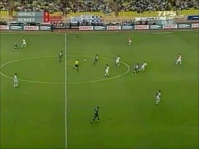 15/05/04 : Alexander Frei (9') : Monaco - Rennes (1-4)