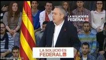 """Navarro: """"Socialistas españoles van a apoyar la solución federal"""""""