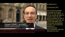 Crimes contre l'humanité .Magistrat Touret de Coucy Crimes reconnu par l'ONU ce 911/2012