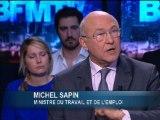 """Michel Sapin: """"je préfère une marche pour la justice fiscale plutôt qu'une révolte fiscale"""" - 01 /12"""