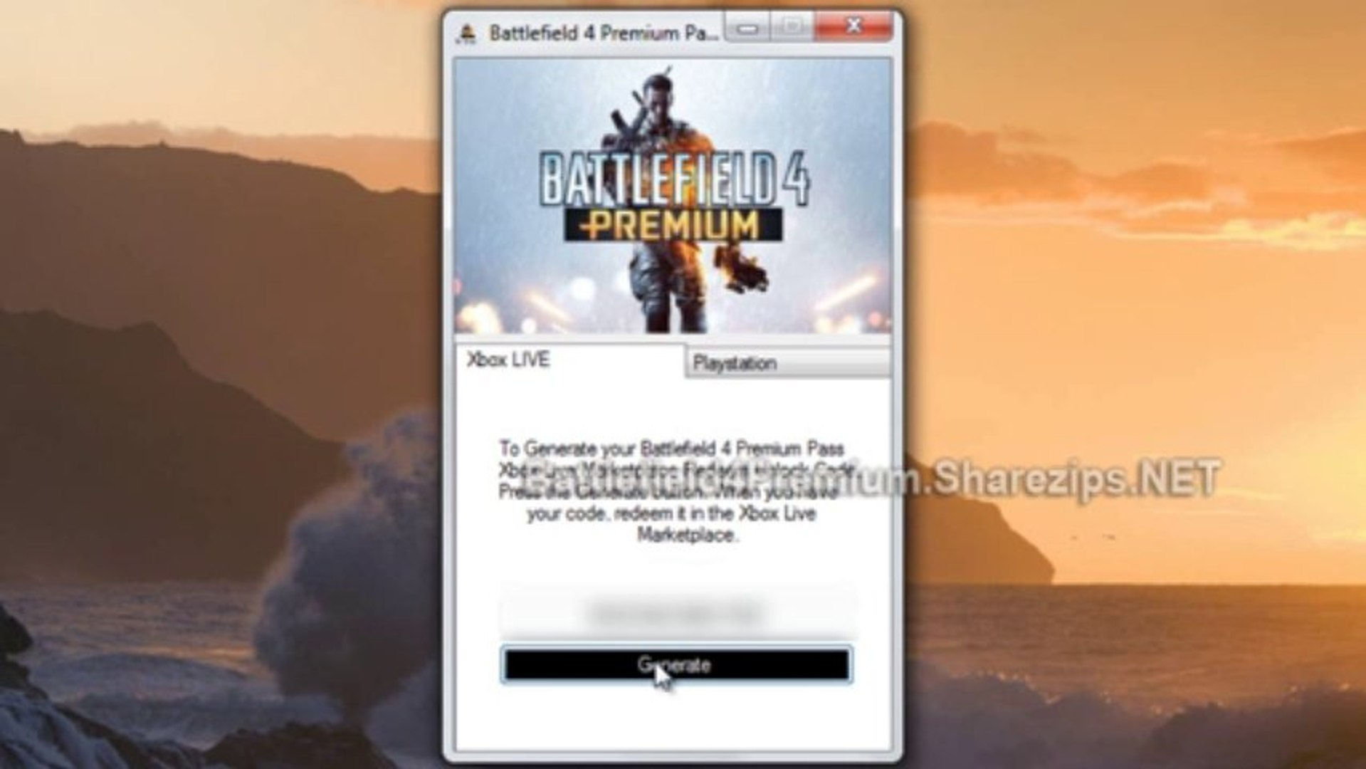 battlefield 4 premium ps4 code free