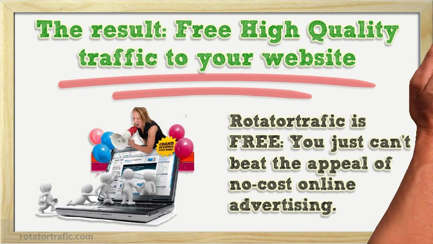 Free Targeted traffic for Your Website !!