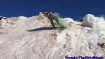 Ski Accident The Ski Jump Faceplant (Painful)