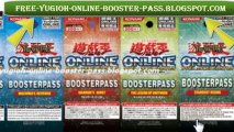 Yu-Gi-Oh! Online 3 Free Booster Pass Points code hack 2012