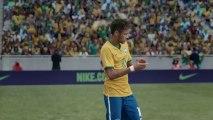 La nouvelle pub géniale de Nike avec les stars du Brésil !