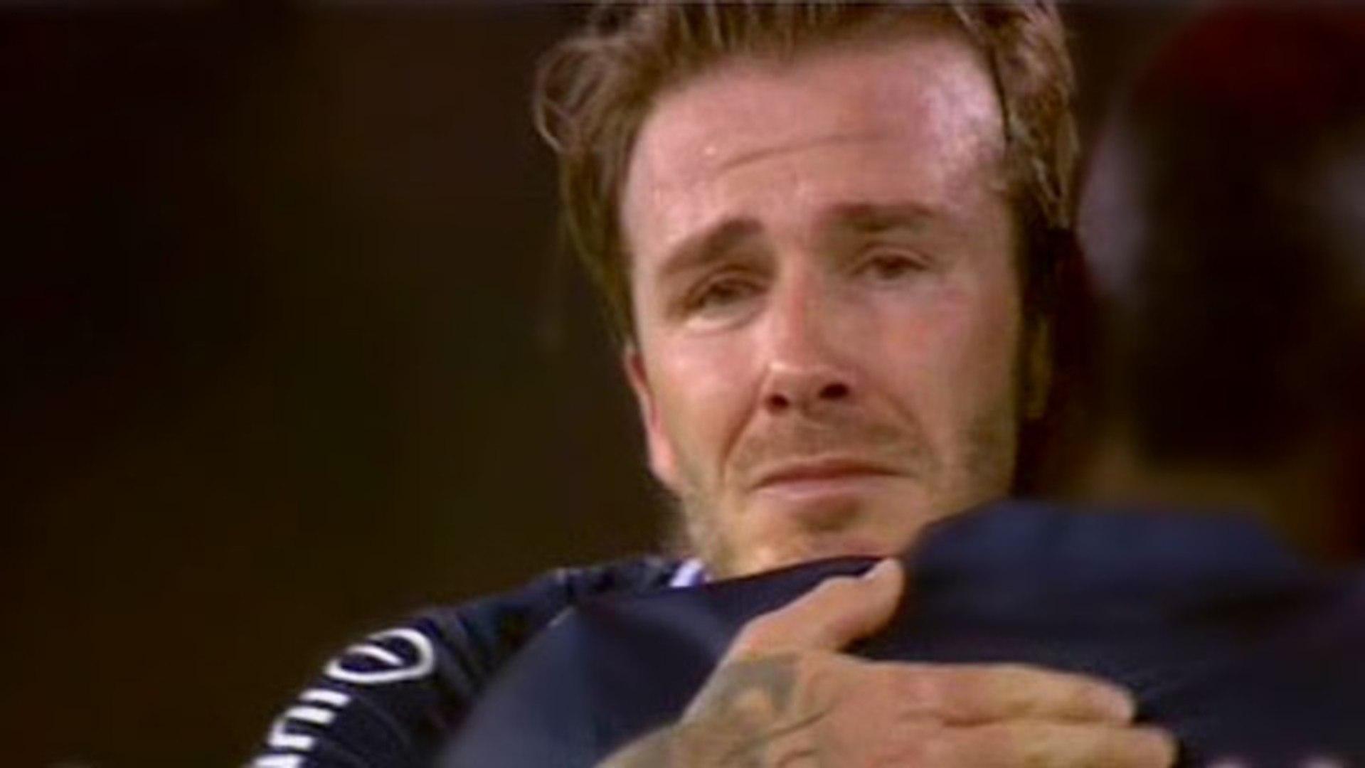 David Beckham Forced To MASTURBATE PUBLICLY!