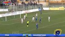 Pisa - Salernitana 0-0 | Highlights | Prima Divisione Girone B 14° Giornata 1/12/2013