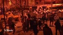 Violents heurts lors des manifestations à Kiev