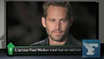 "Top Média : Paul Walker de ""Fast and Furious"" est mort"
