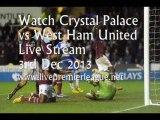 Live Football Crystal Palace vs West Ham Uni