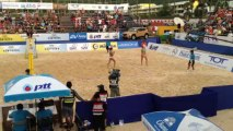 10 Brésil /Chine 1/2 demi finale World Tour Phuket