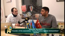Siavosh Derakhti, Founder of the association ''Young Muslims against Antisemitism'' - Sweden