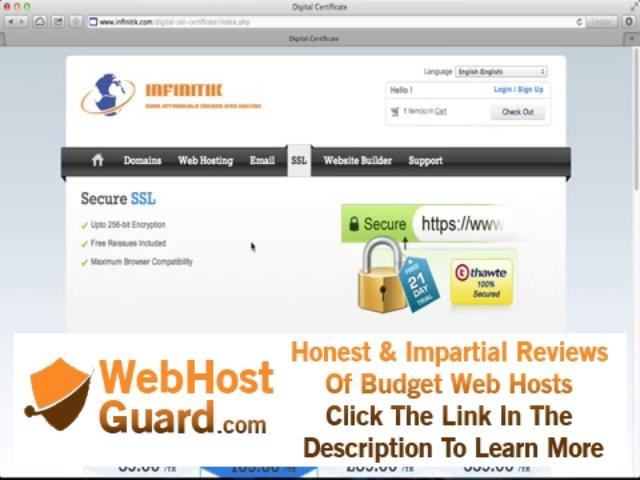 Register a Domain, Hosting, SSL, Email and Website Builder