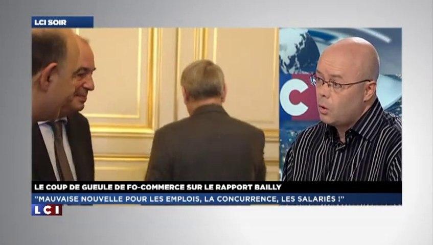 """Le rapport Bailly ? """"Une mauvaise nouvelle"""" pour FO !"""
