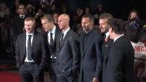 David Beckham Attends Movie Premiere
