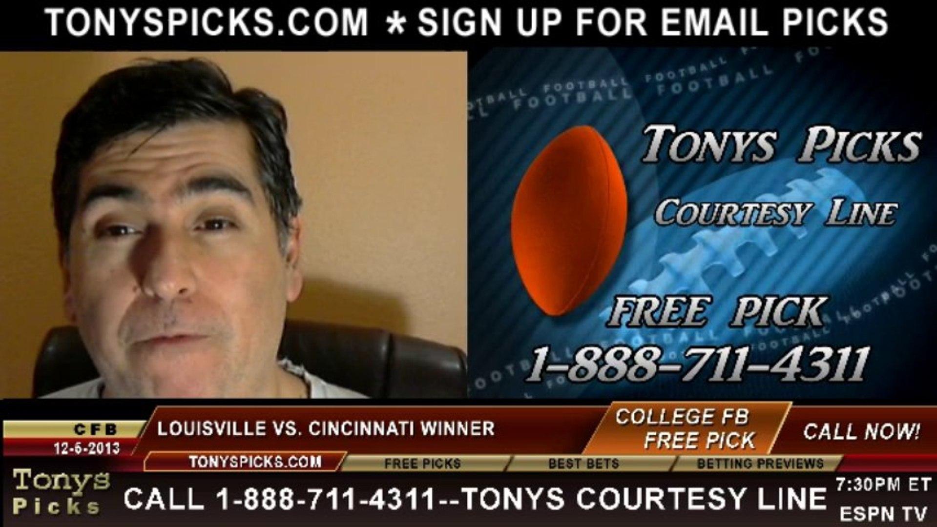Louisville cincinnati betting preview cnbc money talks sports betting