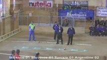 Tir de précision, finale, Sport Boules, Mondial U18 Martigues 2013