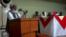 Speech of Muhammad Younas Ghazi 26 May 2012