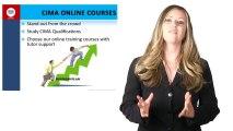 CIMA Online Courses-CIMA qualifications -CIMA Distance Learning Courses-CIMA